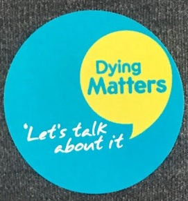 Dying Matters Stickers pack of 240