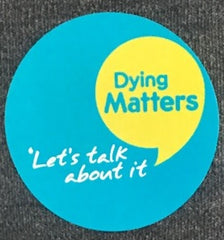 Dying Matters Stickers pack of 1200