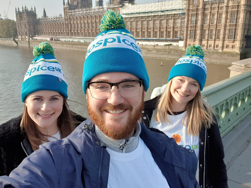 Hospice UK Bobble Hat