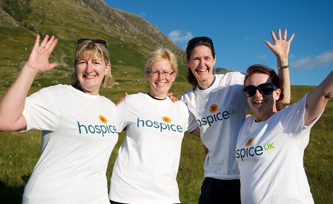 Hospice UK White Cotton T-shirt
