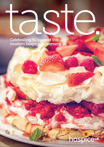 'taste.' - Hospice UK Cookbook