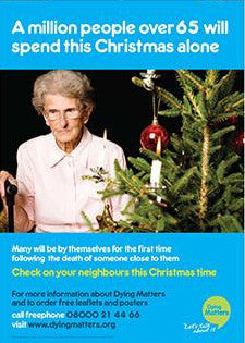 5 'Check on your neighbours this Christmas time' Posters