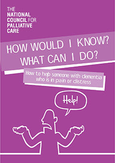 How would I know? What can I do? How to help someone with dementia who is in pain or distress