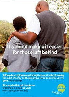 5 'Making it easier for those left behind' Posters