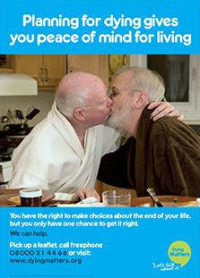 5 'Planning for dying gives you peace of mind for living' Posters