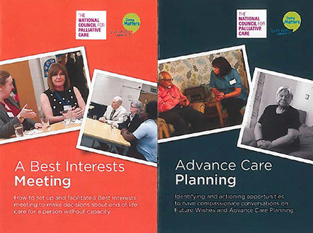 'A Best Interests Meeting & Advance Care Planning' Films DVD bundle
