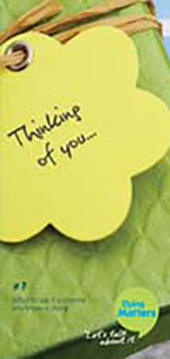 50 Number 7: 'Thinking of you...'  Leaflets