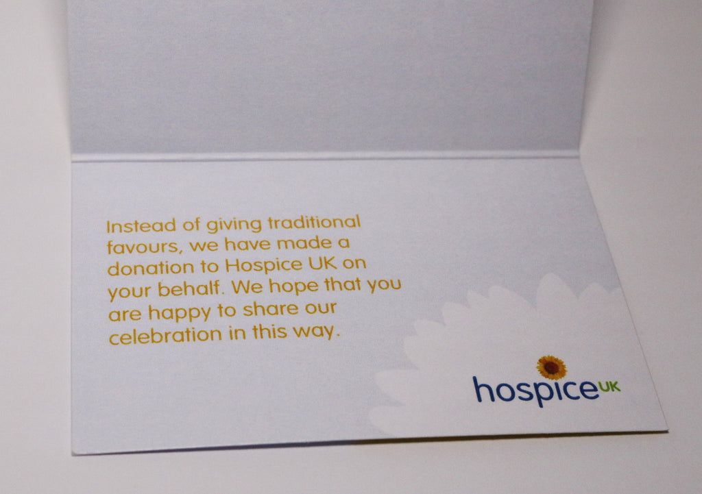 Hospice Uk Wedding Party Favours Pack Of 50