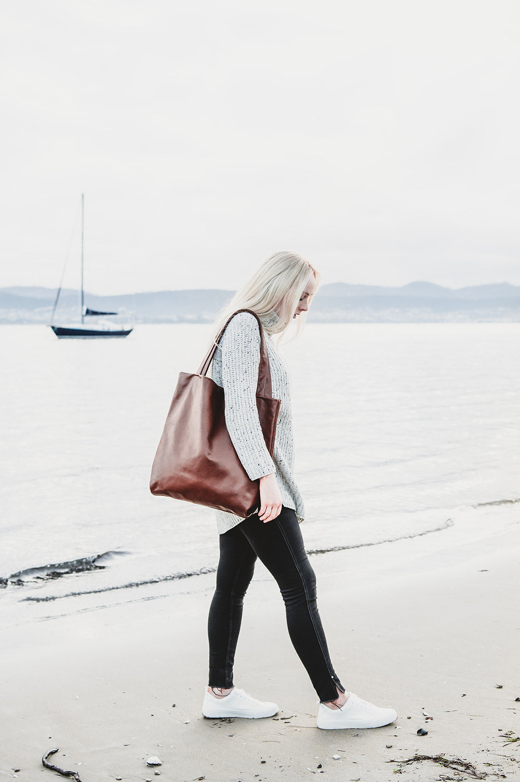 The Ninja Leather Tote - Shop Leather Handbags, clutches & carryalls online | Made in Australia | Workbelt