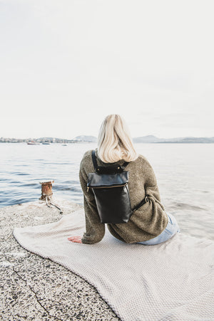 The Doppio: Leather Backpack and Handbag - Shop Leather Handbags, clutches & carryalls online | Made in Australia | Workbelt