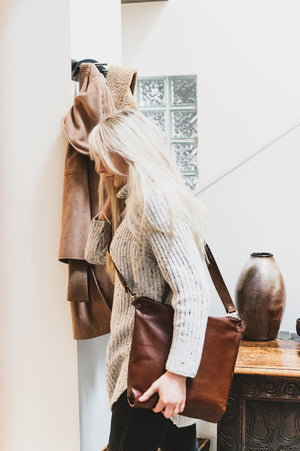 The 'Go To' Leather Carryall - Shop Leather Handbags, clutches & carryalls online | Made in Australia | Workbelt