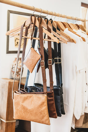The Feather Leather Handbag - Shop Leather Handbags, clutches & carryalls online | Made in Australia | Workbelt
