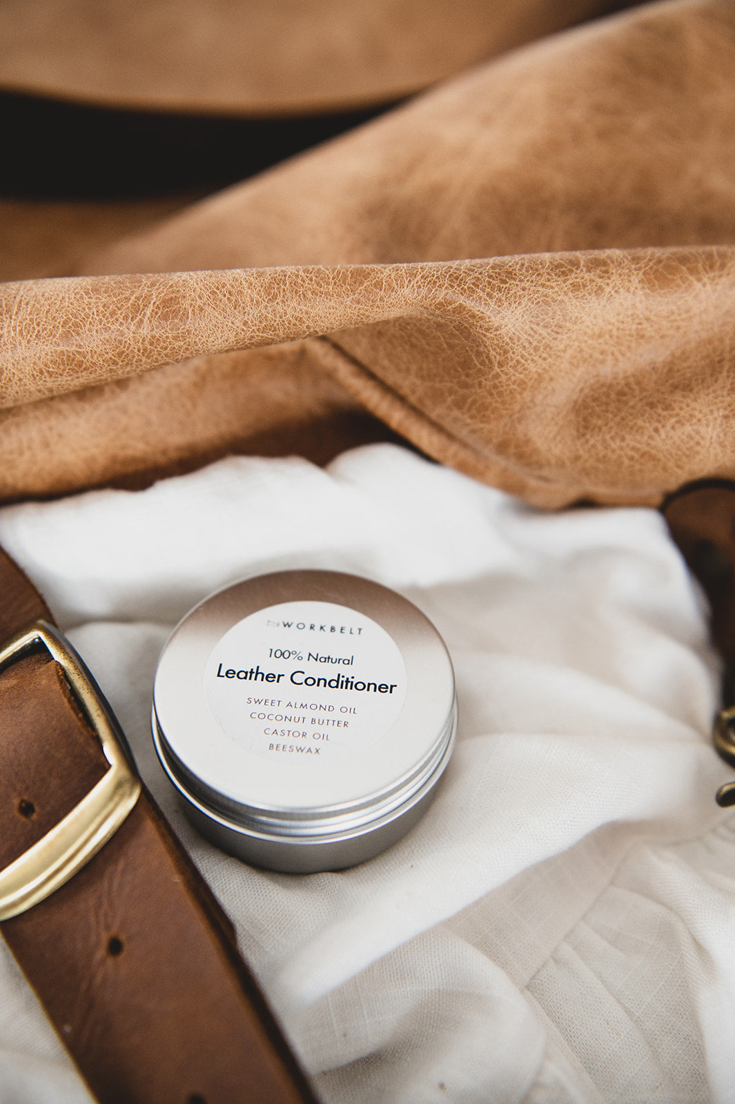 100% Natural Leather Conditioner 50g - Shop Leather Handbags, clutches & carryalls online | Made in Australia | Workbelt