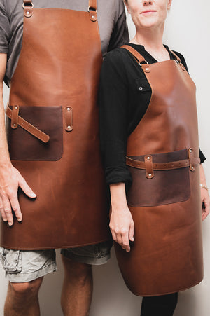 The Clover Hill Leather Apron - Shop Leather Handbags, clutches & carryalls online | Made in Australia | Workbelt
