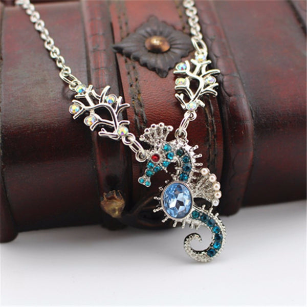 SEAHORSE Sea horse Charm Pendant Necklace Animal Jewelry - Scruffy Chic