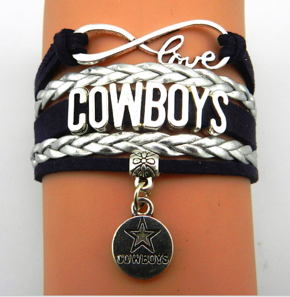 Cowboys Texas Football Inspired Bracelet - Scruffy Chic