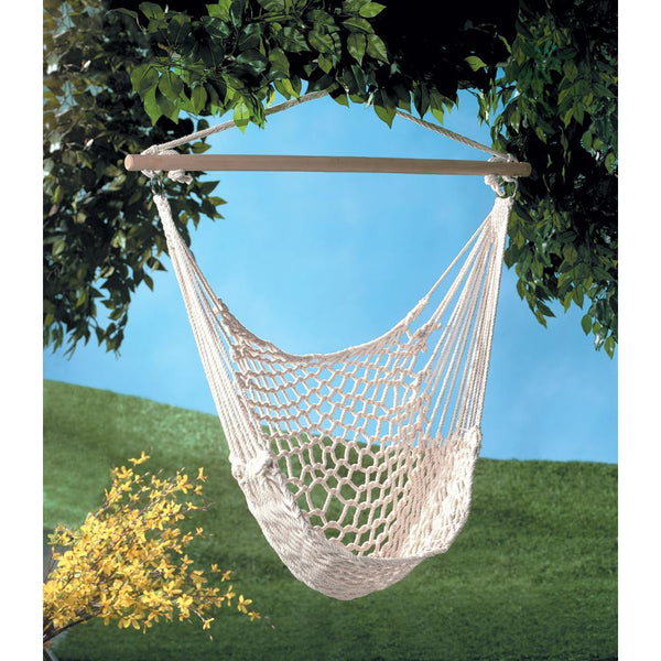 Rope Chair Swing Hammock Cotton Hammock Rope Hammock Hammock Chair - Scruffy Chic