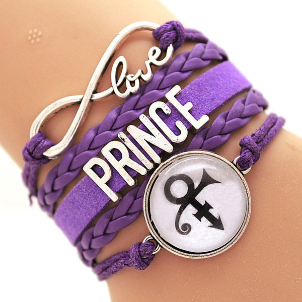 Purple Prince Love Bracelet - Scruffy Chic