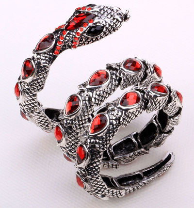 Snake Bangle Bracelet Armlet arm cuff Jewelry - Scruffy Chic