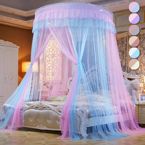 Princess Bed Canopy Kids Baby Bed Room Canopy Curtain Bedding Dome Tent