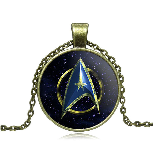 Star Trek Necklace - Scruffy Chic
