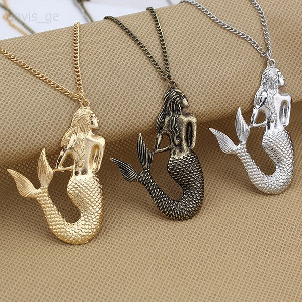 Mermaid Necklace Jewelry Gift - Scruffy Chic
