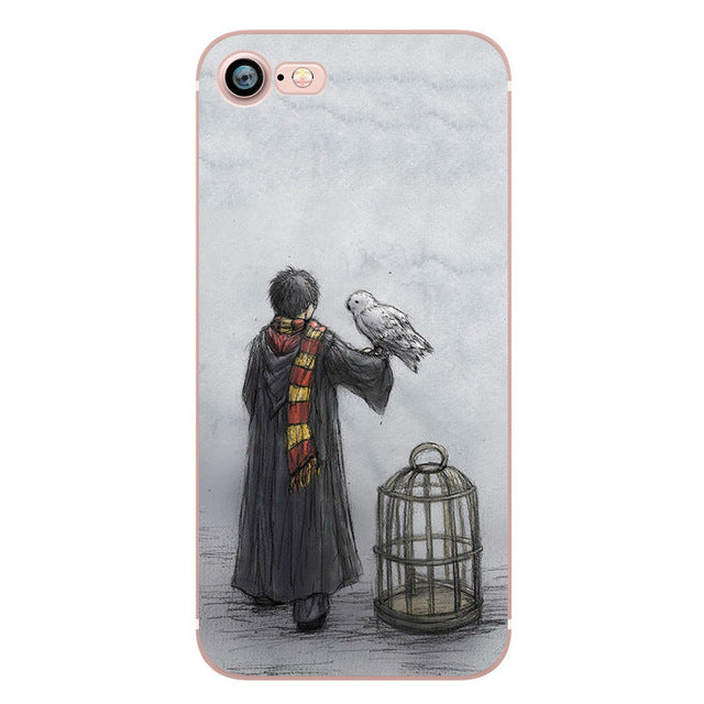 Vintage Style Harry Potter Marauders Map Hogwarts Cell Phone Case For Apple IPhone