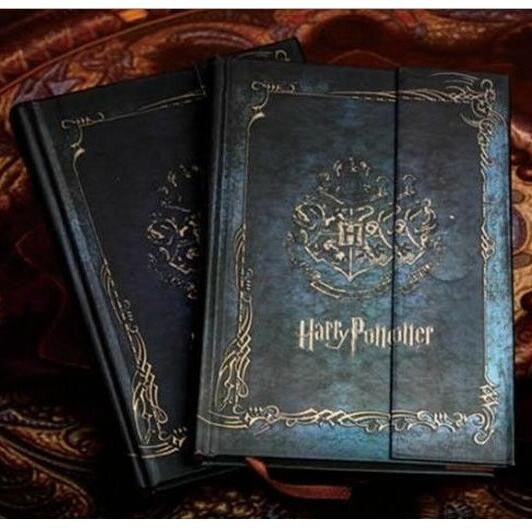 Vintage Style harry potter notebook Diary Book Hard Cover FREE SHIPPING - Scruffy Chic