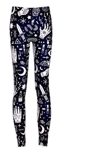 Adventure Gothic Witchy Leggings - Scruffy Chic
