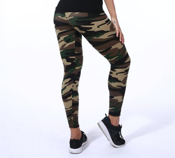 Camo Leggings Camouflage Legging - Scruffy Chic