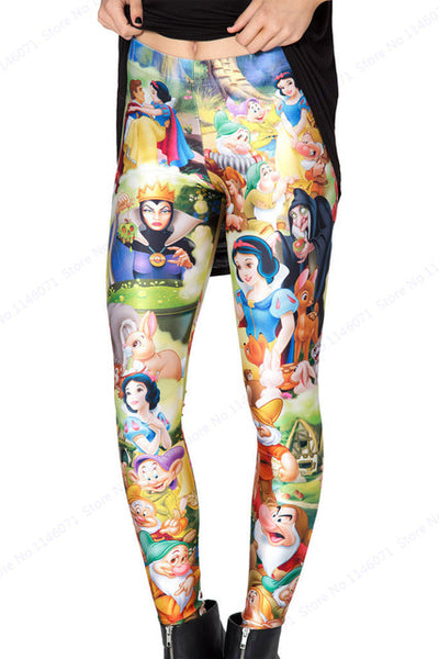 Cartoon Tweety Leggings Yoga Leggings - Scruffy Chic