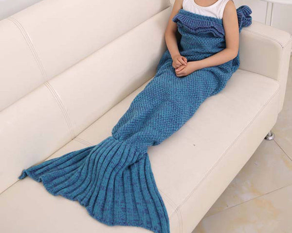Mermaid Tail Blanket for Children - Scruffy Chic