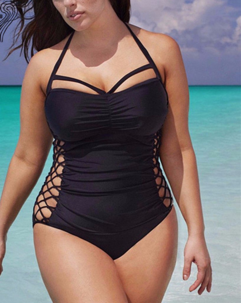 https://www.scruffychicgirl.com/products/big-girls-sexy-swimsuit-lace-up-side-halter-top-bathingsuit
