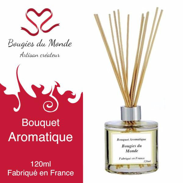 Bouquet aromatique Cannelle mandarine - Bougies du Monde
