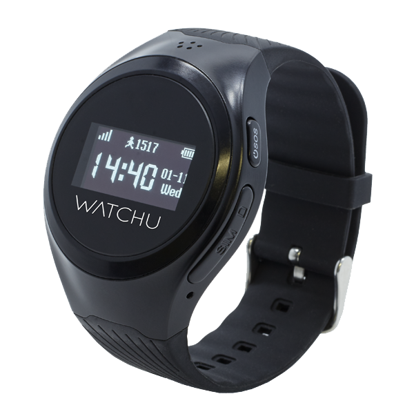 WATCHU Guardian GPS Tracking Smart Watch