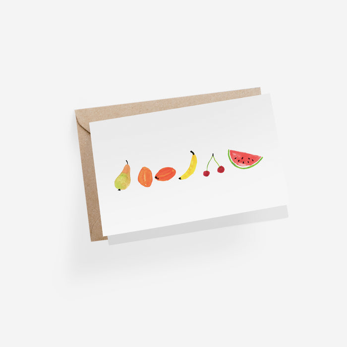 Fruits Folded Card