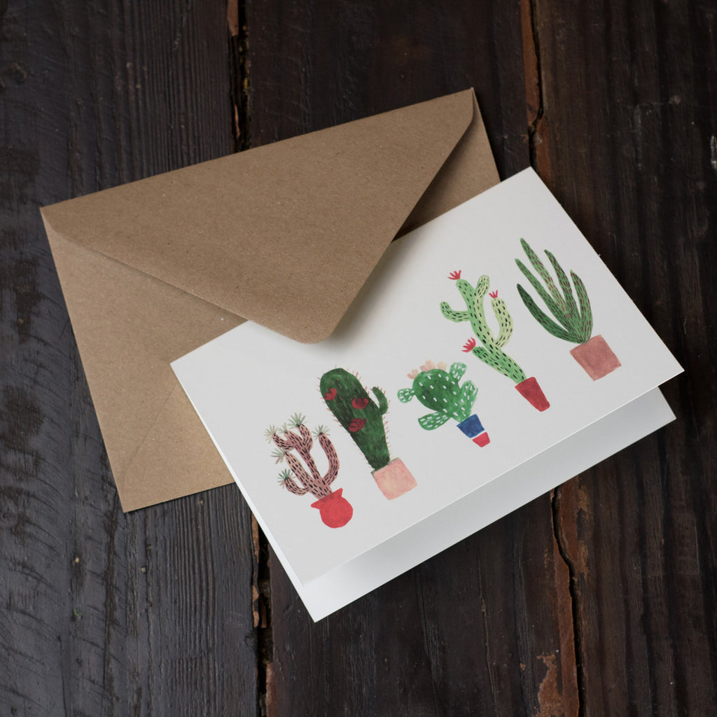 Kakteen Folded Card