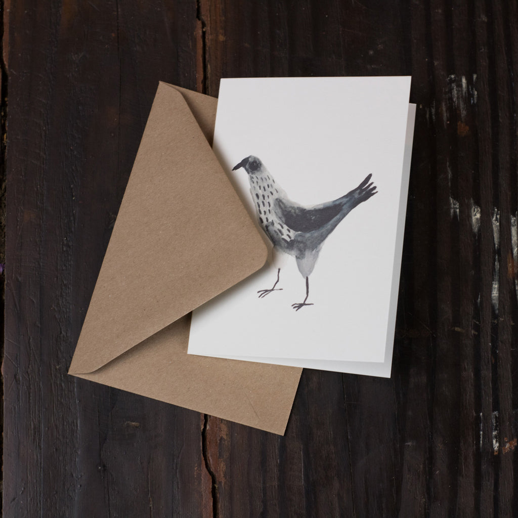 Black Poule Folded Card