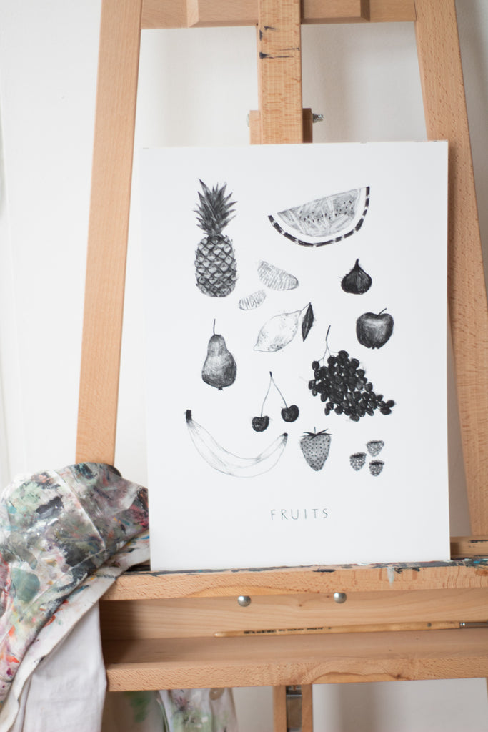 Cuisine Fruits - Fine Art Print
