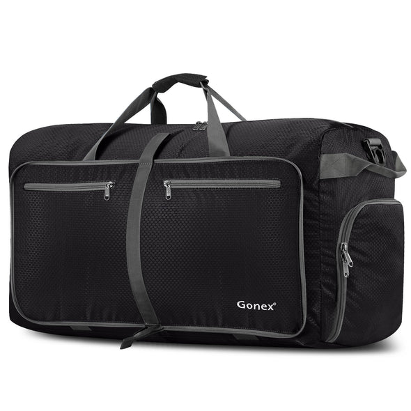 Gonex 100L Foldable Weekender Bag Waterproof Duffel Bag