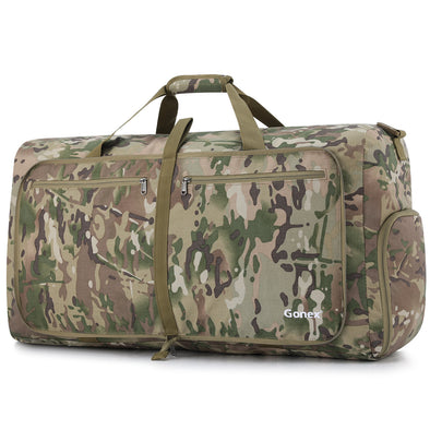 Gonex 80L Weekender Bag Cordura Travel Duffle Bag