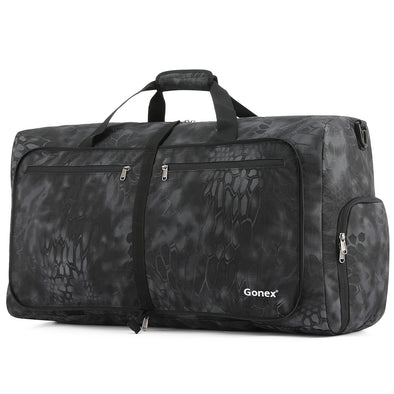 Gonex 60L Weekender Bag Cordura Travel Duffle Bag