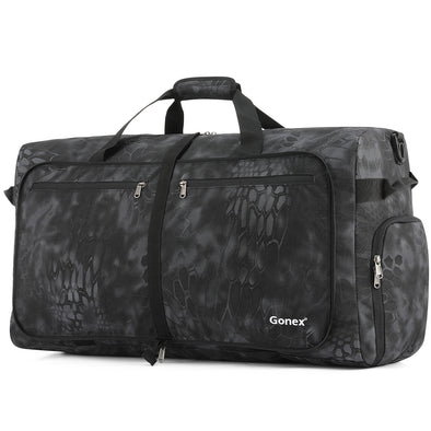 Gonex 100L Cordura Travel Duffle Bag, Packable Luggage Duffel Water& Tear Resistant