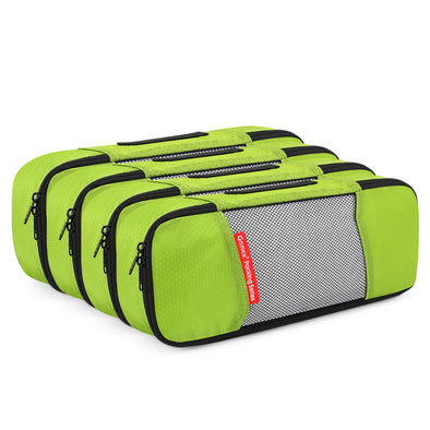 Gonex Packing Cubes Travel Organizer Cubes for Luggage 4 Slim