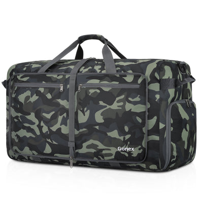 Gonex 100L Camouflage Packable Weekender Bag Travel Duffle Bag