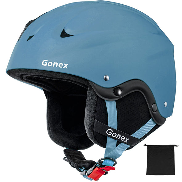 Gonex Anti-Shock Sports Skiing Helmet with Adjustable Dial - S/M/L Size