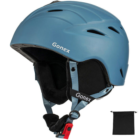 Gonex Ski Helmet Anti-Shock Snowboard Helmet with Adjustable Dial - M/L Size