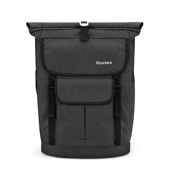 Gonex 30L Casual Roll Top Durable Travel Backpack
