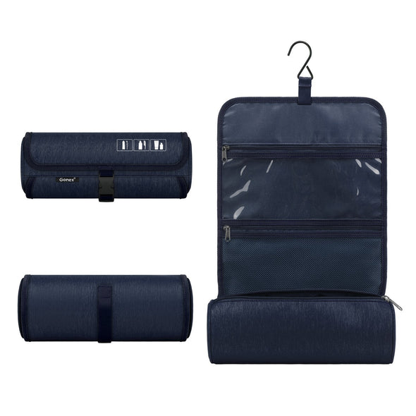 Gonex Hanging Roll-up Toiletry Bag