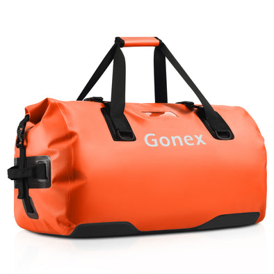 Gonex 60L Waterproof Duffel, Durable Travel Dry Duffle Bag for Kayaking, Boating, Rafting, Fishing, Outdoor Adventure